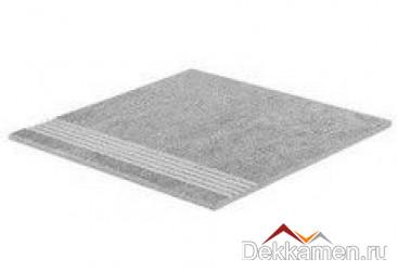 Stroeher ступень простая с насечками Aera T 705 beton (8131)