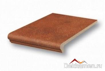 Stroeher ступень рядовая флорентийская Roccia 841 rosso (9340)
