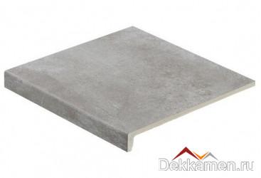 """Stroeher ступень рядовая """"Loft"""" Aera T 705 beton (9430)"""