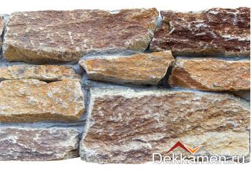 Натуральный камень Pharaon грубый камень Кварцит мультиколор