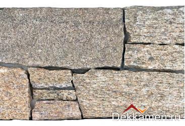 Натуральный камень Pharaon грубый камень Кварцит серо-коричневый