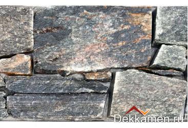 Натуральный камень Pharaon грубый камень Кварцит серо-зеленый