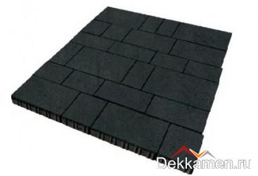 Тротуарная плитка  Инсбрук Тироль 60мм черный , Steinrus
