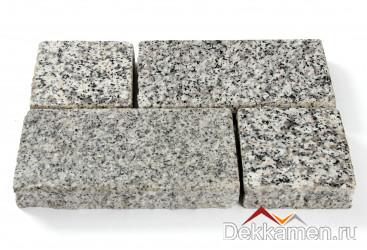 Брусчатка из натурального камня Гранит Белла Уайт, 200*100*30