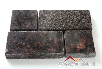 Брусчатка из натурального камня Гранит Дымовский, 200*100*30