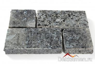Брусчатка из натурального камня Лабрадорит Blue Pearl, 200*100*30