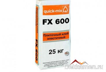 Плиточный клей, эластичный FX 600 25 кг