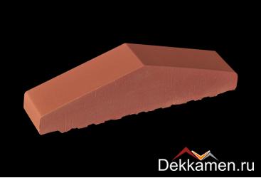 Профильный кирпич полнотелый King klinker, ruby-red 01