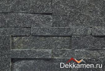 Натуральный камень Pharaon панель 3D Кварцит черный