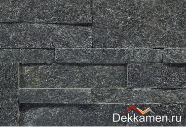 Натуральный камень Pharaon панель 3D Сланец черный