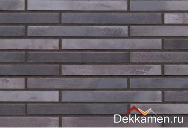 Клинкерная плитка LF18 Obsidian shadow, ригельный формат