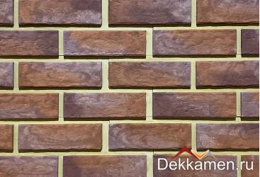 "Фасадный камень Каньон ""Мюнхенский кирпич"" цвет №33"