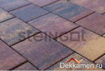 Steingot Тротуарная плитка мультиформат 40мм Color Mix  Новый Город Блэнд