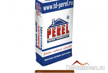Затирка для швов Perel, коричневый