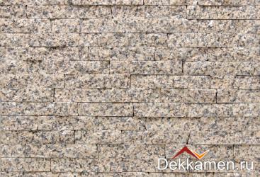 Натуральный камень Гранит Жильтау желтый