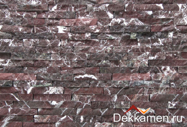 Натуральный камень Мрамор Rosso Levanto 30 мм
