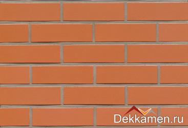 R220NF9 terracotta liso  Feldhaus Klinker, толщина 40 мм