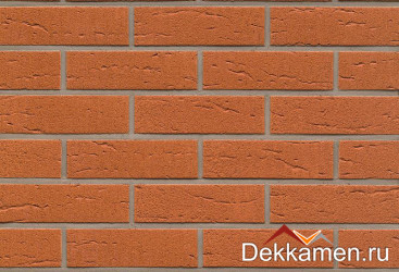 R227NF9 terracotta rustico Feldhaus Klinker, толщина 80 мм