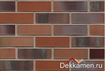 Клинкерная плитка R560 carbona carmesi colori, 240х71х14
