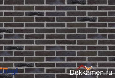 RT520 UNIKA/SPEZIALFARBEN Negro mit Kohle Handstrichziegel, 228*108*54 мм полнотелый