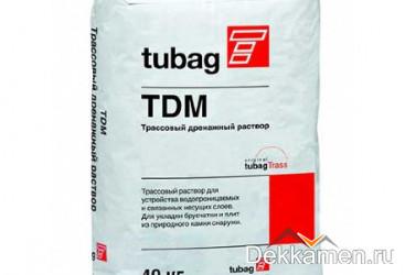 Трассовый дренажный раствор TDM 40 кг, серый