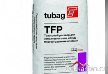 TFP Трассовый раствор для заполнения швов для многоугольных плит, серый