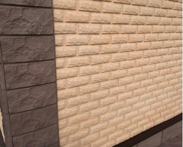 Фасадные панели на саморезах